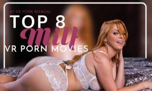 top eight milf vr porn