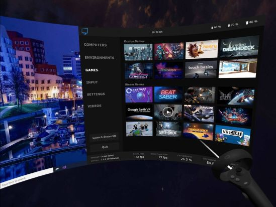 oculus quest 2 streaming